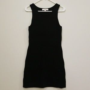 Ann Taylor LOFT Petite Black Sweater Dress
